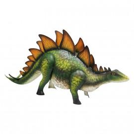 Stegosaurus Ornament Created From Metal