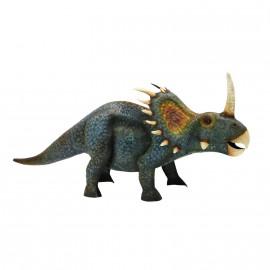 Styracosaurus Ornament Created From Metal