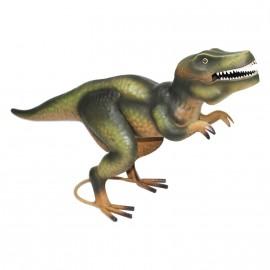 Tyrannosaurus Rex Ornament Created From Metal