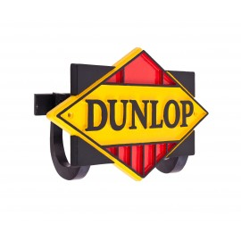 Dunlop tyres hand cast aluminium Hose Holder