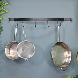 Wall Mounted Bowed Kitchen Tool Rack