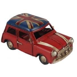 Union Flag Roof Mini Cooper Replica Ornament