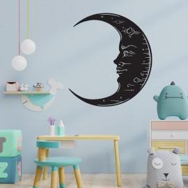 Black 'Moon' Wall Art