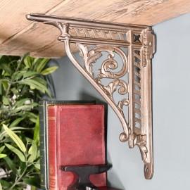 Natural Iron Cast Iron Shelf Bracket 31 x 26cm