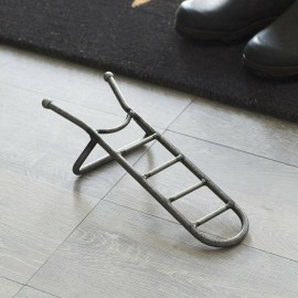 Natural Steel Boot Jack in the House