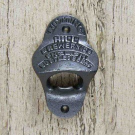 """Iron Bottle Opener With """"Notting Hill"""" Design"""