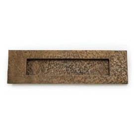 Solid Oil Rubbed Bronze Letter Plate