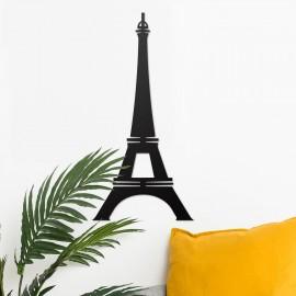 Paris Eiffel Tower Wall Art in Situ