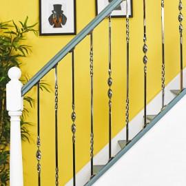 "Set of 2 ""Alessi"" Alternating Stair Spindles - Pattern 1"