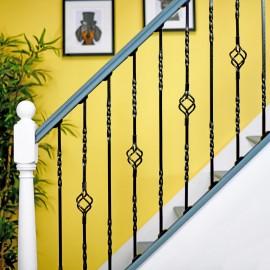 """Cavendish"" Set of 2 Alternating Stair Spindles - Pattern 2"