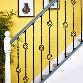 """Cavendish"" Set of 3 Alternating Stair Spindles - Pattern 6"
