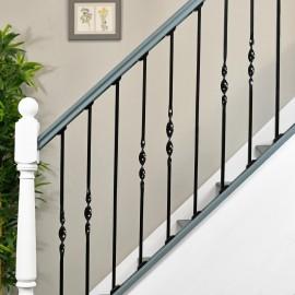 """Set of 3 """"Acadia"""" Alternating Stair Spindles - Pattern 7"""