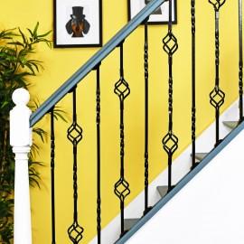 """Cavendish"" Set of 2 Alternating Stair Spindles"