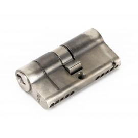 Pewter 5-Pin Euro Cylinder