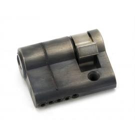 Pewter 5-Pin Single Cylinder