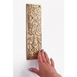 """""""Babylonia"""" Solid brass fingerplate"""