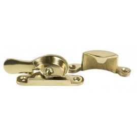 Polished Brass Wedge Fastener