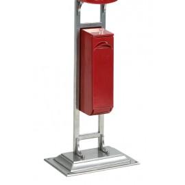 Post Box Stand - Silver