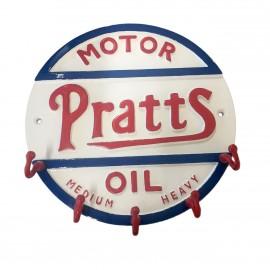 """Pratts"" Cast Aluminium Key Holder"