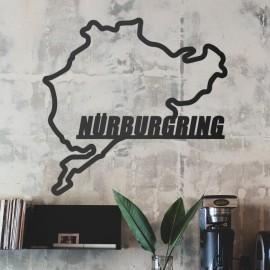 Nürburgring Race Track Wall Art in Situ