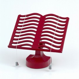 Cast Iron Cook Book Stand - Red