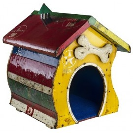 Recycled Metal Dog House