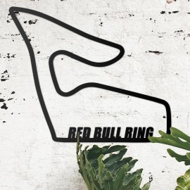 Red Bull Ring Motorsport Race Track Wall Art in the Living Room