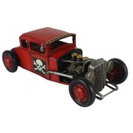Red Hot Rod Car Replica Ornament