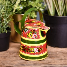 Traditional Watering Can Finished in Red