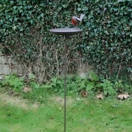 """""""Robin"""" Bird Bath Spike in Situ"""