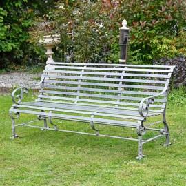 "Robust ""Chatham"" Park Bench - grey"