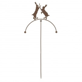 Balancing Hares Spike in a Rustic Finish