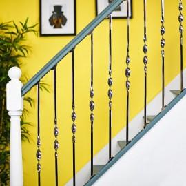 Stainless Steel Single Bold Twist Stair Rod