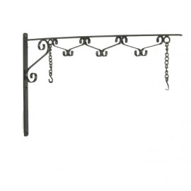 Scroll Effect Hanging House Sign Bracket