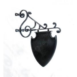Shield Scroll hanging sign bracket