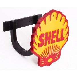 """Shell"" Petrol Sign Garden Hose Holder"