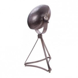 Contemporary Domed Lights on Tripod in Silver