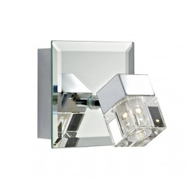 Singular Contemporary Mirrored Wall Light