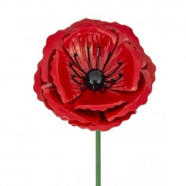 Close-up of the Metal Poppy Head