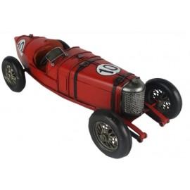 Vintage Red Sports Car Replica Ornament
