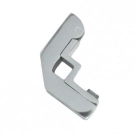 Bright Chrome Hinged Square Stair Bracket - 9mm