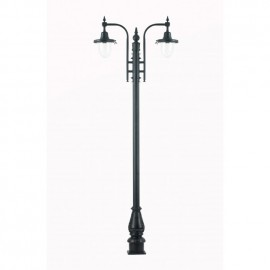 St Marlo Double Period Lamp Post Set