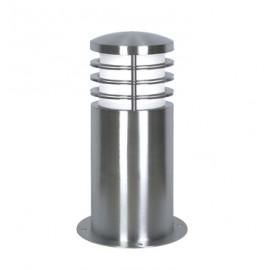 Stainless Steel Low Level Bollard Light 24cm