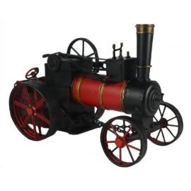 Vintage Red & Black Steam Train Replica Ornament
