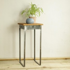 """""""Heart"""" Steel Side Table in Situ in the Home"""