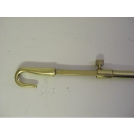 Telescopic Brass Window Winder Pole 1.5m - 2.5m