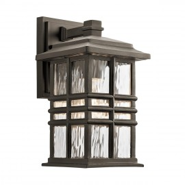 """""""The Bungalow"""" Wall Light in an Antique Bronze Finish"""
