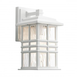"""""""The Bungalow"""" Wall Light in a White Finish"""