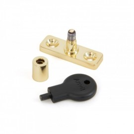 Locking Stay Pin Finished in Polished Brass