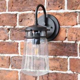 'Wroxchurch' Vintage Bronze Antique Style Glass Lantern